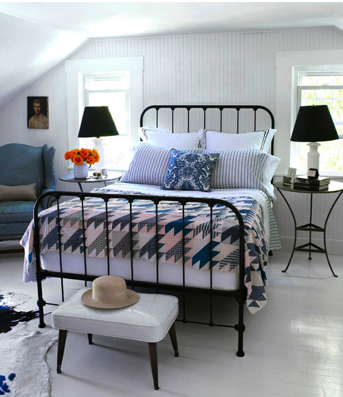 Bedroom inspiration country cottage bedroom island living blog - The writers cottage inspiration by design ...
