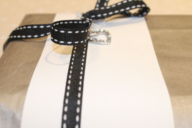 Gift Wrapping with Saddle Stitch